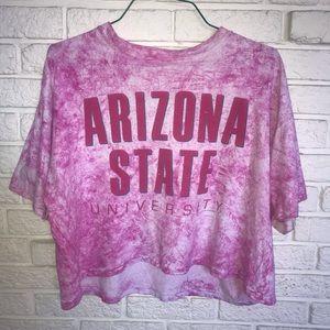 Tops - Vintage Arizona State University Crop Top